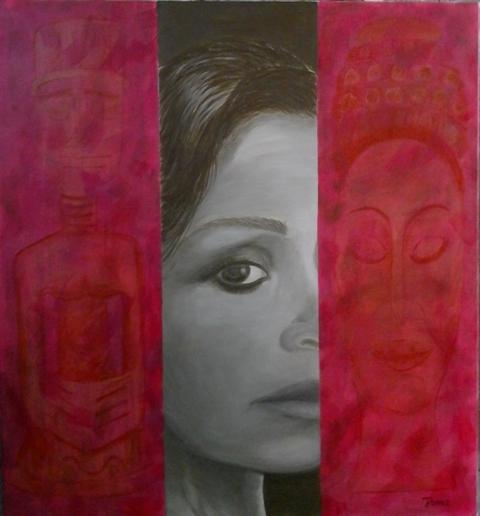 Melissa Acrylique sur toile 103 x 93 - 05 2017
