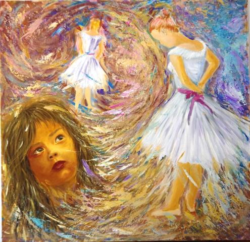 Rêve - Acrylique sur toile 103 x 100 - 06 17